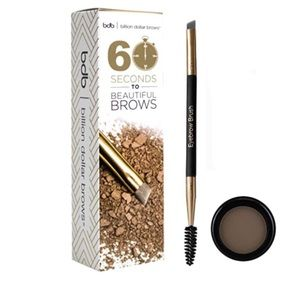 BDB 60 Seconds to Beautiful Brows Kit in Taupe new